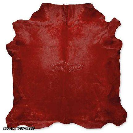 Δέρμα Αγελάδας Dyed Red - 200x220