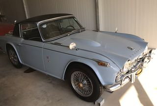 Triumph TR4 '62 GRAND TOURING GT