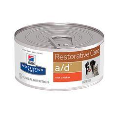 Hill'S Prescription Diet A/D Restorative Care Με Κοτοπουλο 24X156Gr