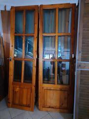Πωλουνται Ξύλινα παράθυρα,μπαλκονόπορτες,πορτες μεταχ.