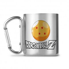 Κούπα Dragon Ball Z 250ml Carabiner Clip Handle Inox Mug