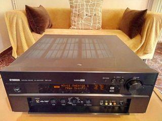 ενισχυτης yamaha dsp-ax2,22 κιλα,japan,2καναλος,4καναλος,6.1,Dolby Surround, DTS, Dolby Digital, 32 Bit Cinema DSP, etc.,100khz,phono,pre-main