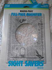 SIGHT SAVERS BRAND manga page full page magnifier sight savers 9Χ11