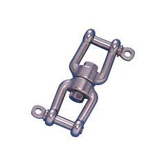 Στριφτάρι με 2 κλειδιά, Inox 316 Μέγεθος: 6mm