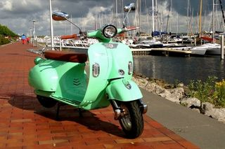 Μοτοσυκλέτα roller/scooter '20 RETRO VINTAGE 2000W 60 v 20 ah