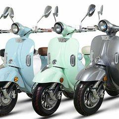 Μοτοσυκλέτα roller/scooter '21 RETRO VINTAGE 2000W 60 v 20 ah