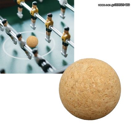 Table Football Accessories 36mm Wooden Football Table Ball(Wood Color)