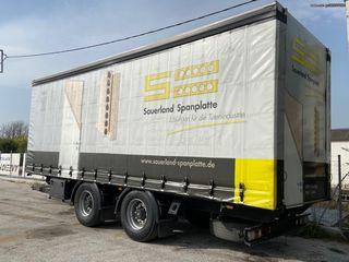 Φορτηγό Άνω Των 7.5τ καρότσα κουρτίνα '95 5.000+δασμος