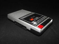 Vintage Portable Cassette Recorder SLIM 8 SANYO