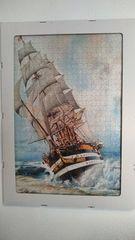 Puzzle 1000 κομ. «Πολεμικό πλοίο» —> 80€