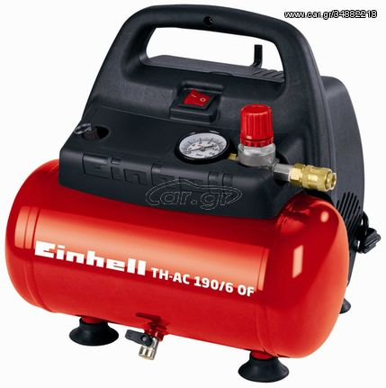 Einhell TH-AC 190/6 OF 1100W 185l/min air compressor|4006825592184(4020495)