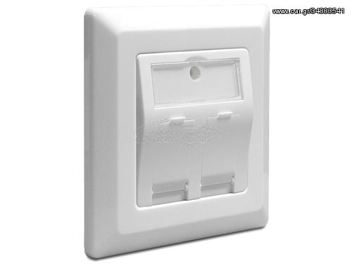 DeLOCK 86202 outlet box(86202)