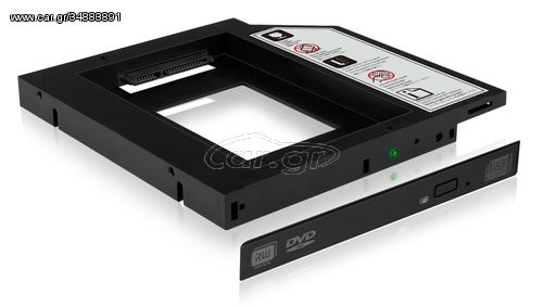 "ICY BOX IB-AC640 HDD/SSD enclosure 2.5"" Black(70644)"