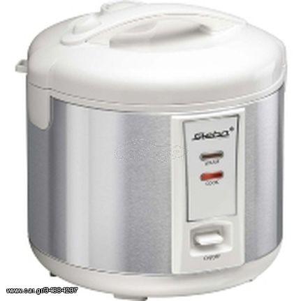 Steba RK 2 1.8L 700W Stainless steel,White rice cooker(050200)