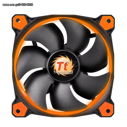 Thermaltake Riing 12 Computer case Fan(CL-F038-PL12OR-A)