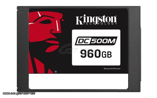 "Kingston Technology DC500 internal solid state drive 2.5"" 960 GB Serial ATA III 3D TLC(SEDC500M/960G)"