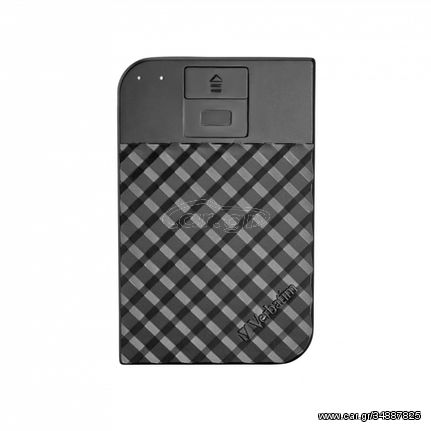 Verbatim Fingerprint Secure external hard drive 1000 GB Black(53650)