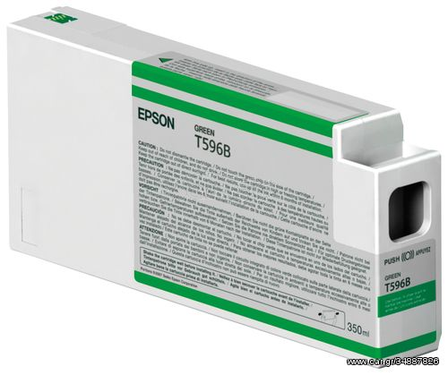 Epson Singlepack Green T596B00 UltraChrome HDR 350 ml(C13T596B00)