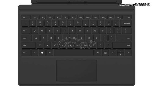 Microsoft Surface Pro Type Cover mobile device keyboard Spanish Black Microsoft Cover port(FMN-00012)