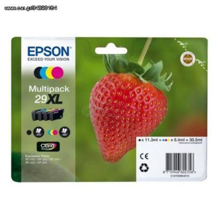 Αυθεντικό Φυσίγγιο μελάνης Epson C13T29964010 Μαύρο Κίτρινο Κυανό Mατζέντα