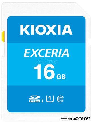 Kioxia Exceria memory card 16 GB SDHC Class 10 UHS-I (LNEX1L016GG4)