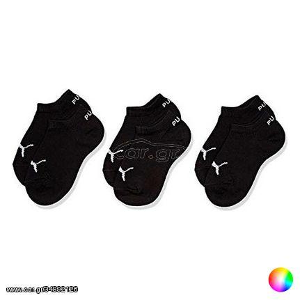 Αθλητικές Κάλτσες Αστραγάλου Puma Kids Quarter CDT (3 ζευγάρια) - Λευκό