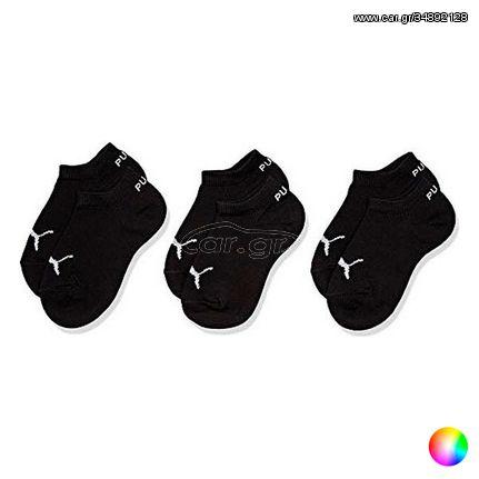 Αθλητικές Κάλτσες Αστραγάλου Puma Kids Quarter CDT (3 ζευγάρια) - Πολύχρωμο