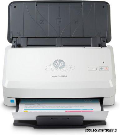 HP Scanjet Pro 2000 s2 600 x 600 DPI Sheet-fed scanner Black,White A4 (6FW06A)