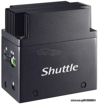 Shuttle EDGE EN01J3 J3355 Intel® Celeron® 4 GB LPDDR4-SDRAM 64 GB eMMC Mini PC Black (NEC-EN01J30)