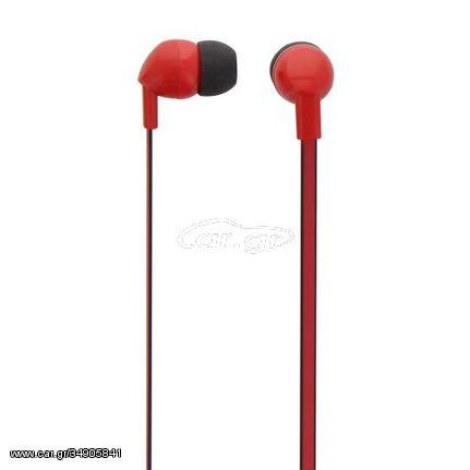Ακουστικά ψείρες με μικρόφωνο Κόκκινο ESBCRD 070009 Tnb