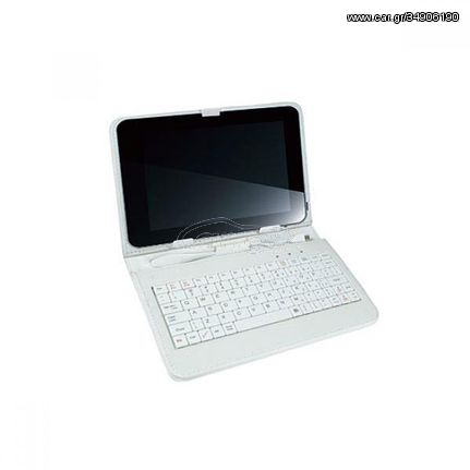 Θήκη για tablet 7 TK-542UW άσπρο με πληκτρολόγιο VAKOSS