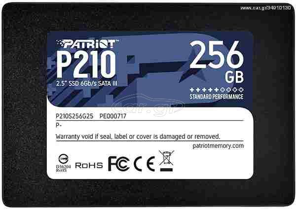 Ssd Patriot P210 256GB