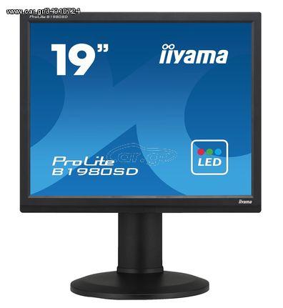 """IIYAMA used οθόνη B1980SD LED, 19"""" 1280x1024px, VGA/DVI-D, με ηχεία, SQ"""