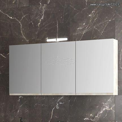Furnibath F12Α - Καθρέπτης μπάνιου με ντουλάπι 117x55