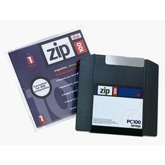 IOMEGA zip disk 100MB mac formatted (02014390)