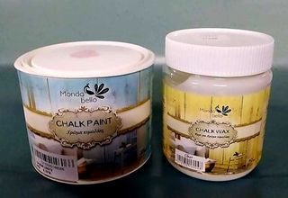 Χρωμα κιμωλιας 375 ml & κερι προστασιας