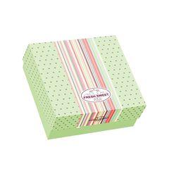 Κουτί ζαχαροπλαστικής μεταλιζέ FRESH No 15 με τιμή ανά κιλό   025.13.005