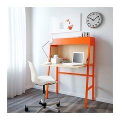 Γραφείο σεκρετέρ Ikea PS 2014 Πορτοκαλί
