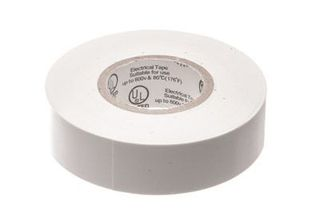 ΜΟΝΩΤΙΚΗ ΤΑΙΝΙΑ ΑΚΑΥΣΤΗ PVC 0,13*19mm 0-60° C ΛΕΥΚΗ