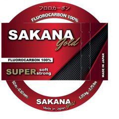 Sakana Πετονιά Gold Fluorocarbon 100% 50m Ø 20mm