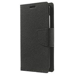 Fancy Diary Book Stand Case for Samsung Galaxy S9 SM-G960F in Black