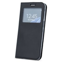 Book Case S-View Smart Magnet for Samsung Galaxy S9 SM-G960F in Black