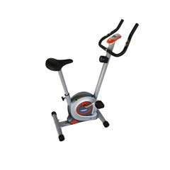 Μαγνητικής αντίστασης ποδήλατο για ασκούμενο χρήστη μέγιστου βάρους 100kg. Διαθέτει 8 επίπεδα δυσκολίας