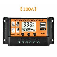 Ρυθμιστής φωτοβολταικου πάνελ 12V / 24V 100A