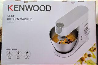 Ολοκαίνουργια Κουζινομηχανή KENWOOD KVC 3100 W με εγγύηση 2 ετών (Υπάρχει έντυπο εγγύησης) + Δώρο Wellness Drink Mixer!!! ΕΚΠΤΩΣΗ 44%