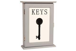 Κλειδοθήκη ξύλινη 18Χ6,5Χ24,5 εκ. - KESKOR 72911