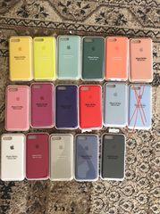 Θήκες σιλικόνης iPhone 7Plus/8plus σφραγισμένες