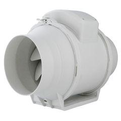 Εξαεριστήρας κυκλικής διατομής Φ100 mm αθόρυβος (In Line) 180m3/h
