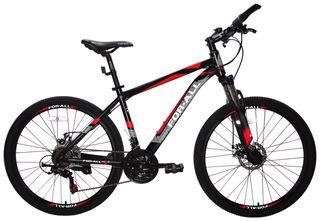 Ποδήλατο παιδικά '21 Ποδήλατο Αλουμινίου Mountain 26 ίντσες  με SHIMANO ταχύτητες Μαύρο Κόκκινο