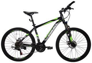 Ποδήλατο παιδικά '21 Ποδήλατο Αλουμινίου Mountain 26 ίντσες  με SHIMANO ταχύτητες Μαύρο Πράσινο